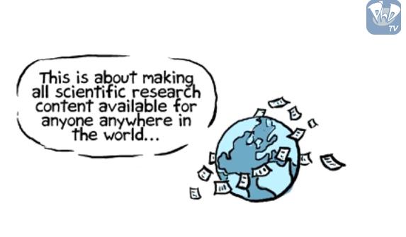 L'Open Access expliqué en vidéo