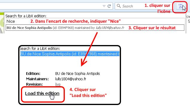 Configurer LibX pour Nice