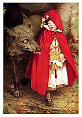 Le Petit Chaperon rouge par Jessie Willcox Smith, 1911 - Domaine public