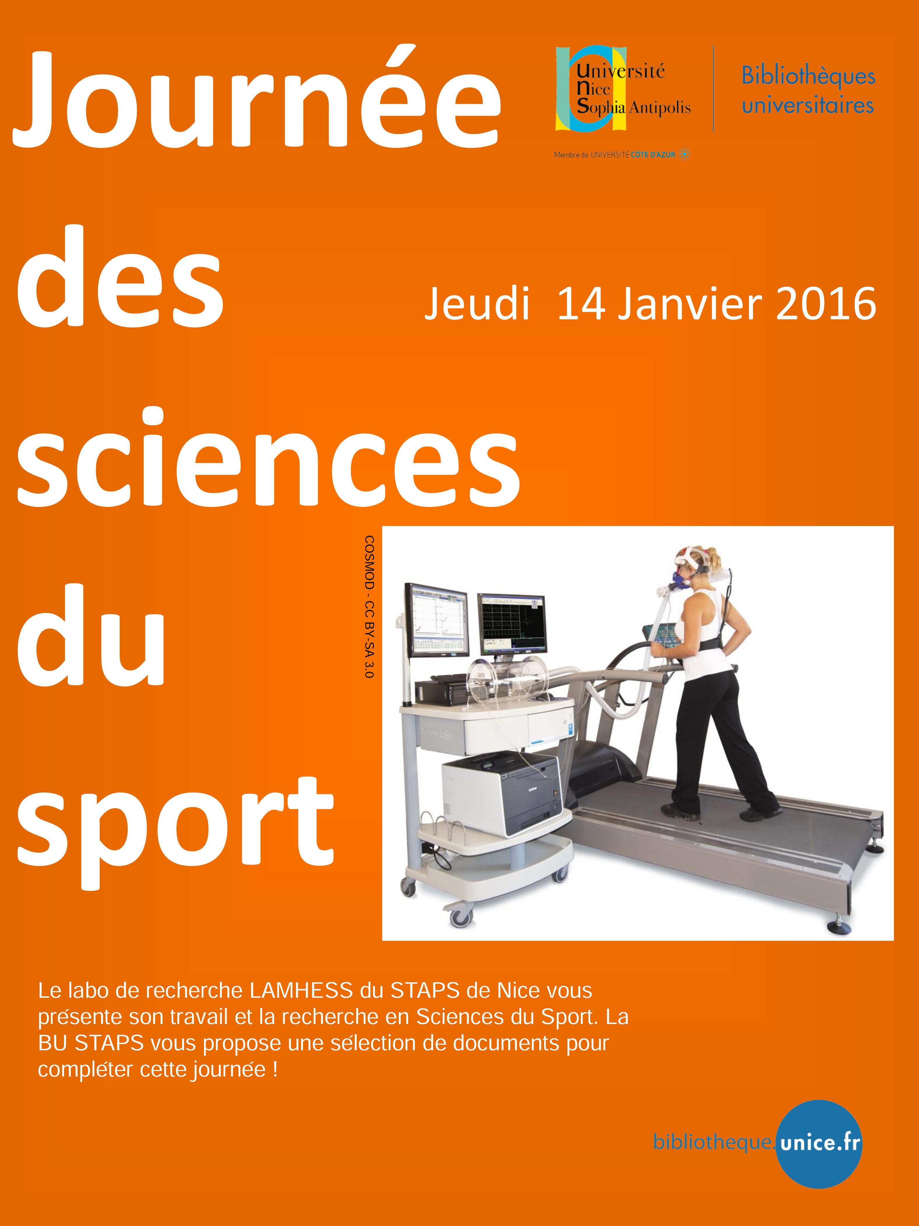 Journée des sciences du sport