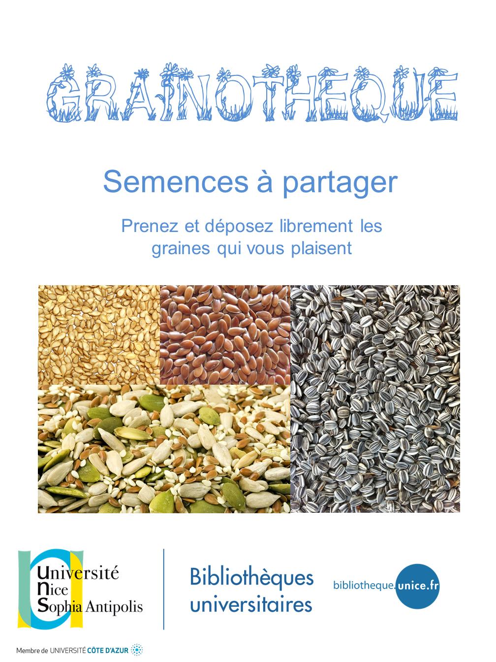 Affiche grainothèque