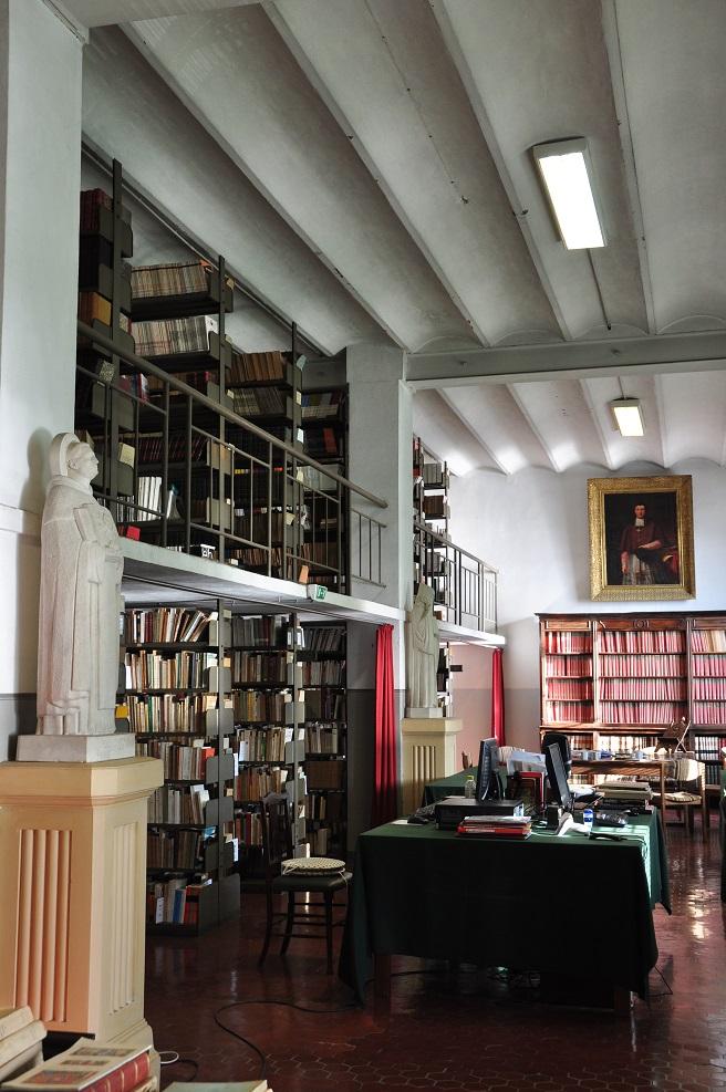Bibliothèque diocésaine de Nice. (Photo E. Rauzy)
