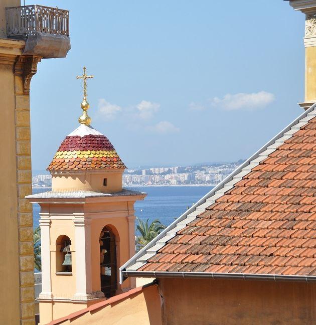Vue depuis la Bibliothèque du Sénat de Nice. Photo E. Rauzy.