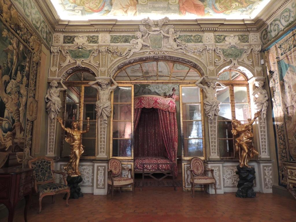 Palais Lascaris, chambre d'apparat. Crédit : Ville de Nice, photothèque du Palais Lascaris